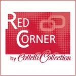 Red Corner Label